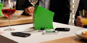 cell phone charger station business