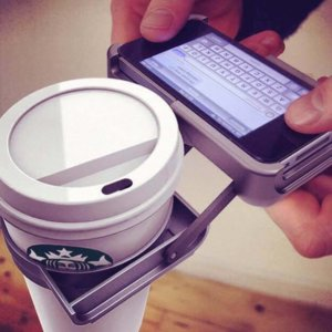 Who else is going to hold my Starbucks?